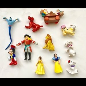 Disney stories characters 16 pieces miniature toys